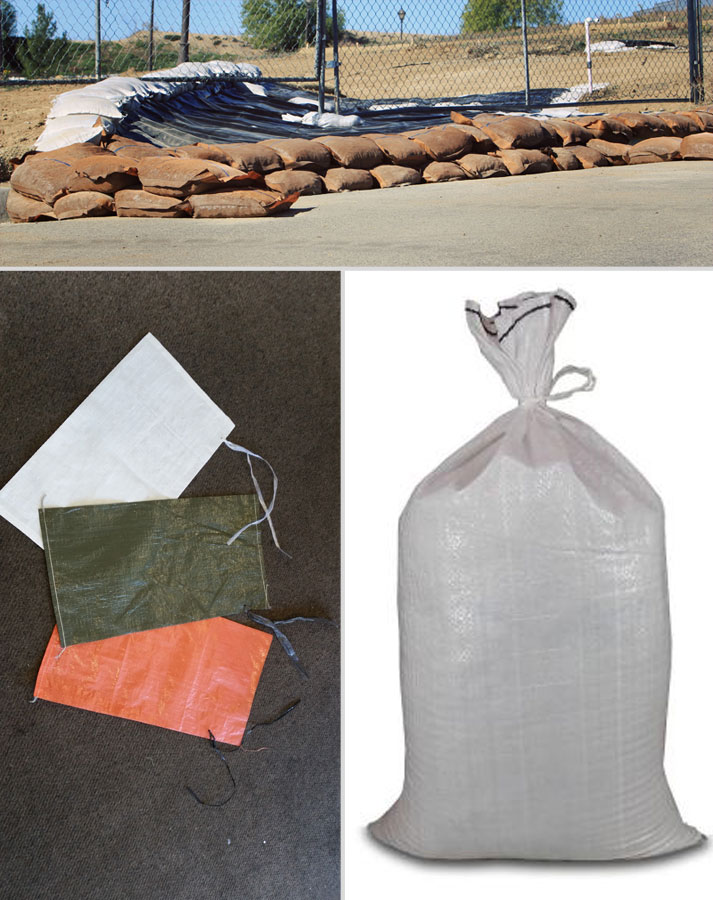 Poly Sand Bags and Polypropylene Sand Bags