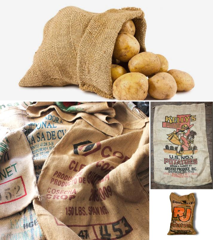 Custom Burlap Bags and Printed Burlap Bags