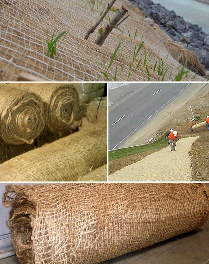 Jute Erosion Control Fabric