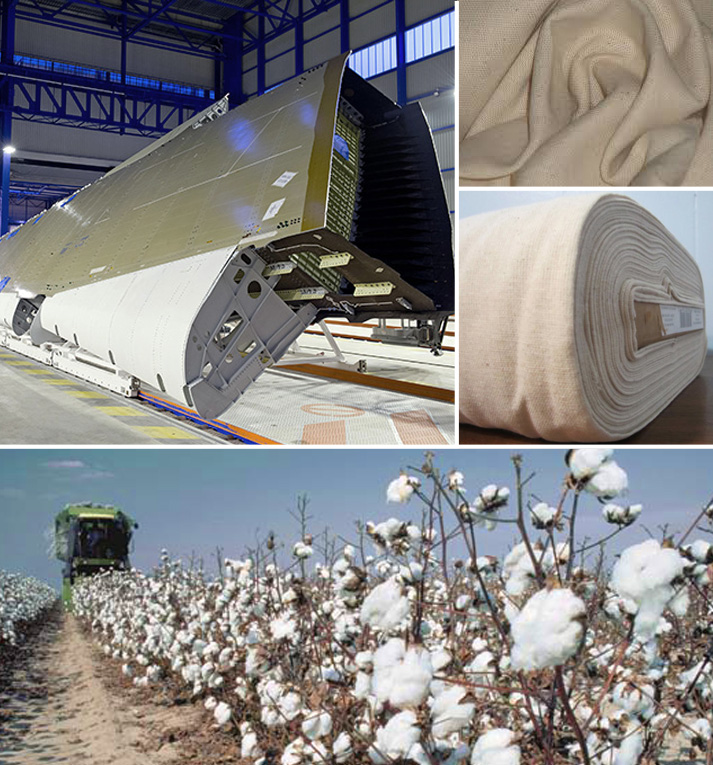 Osnaburg Cotton Material